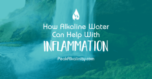 How Alkaline Water Helps with Inflammation